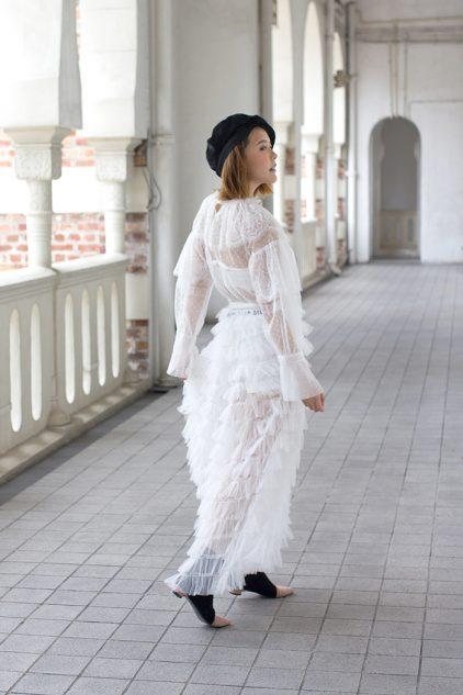 Dior Mesh Blouse