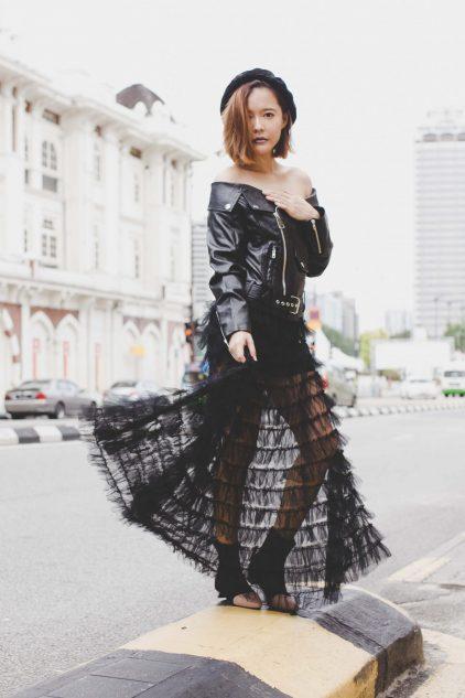 Dior Maxi Skirt Black