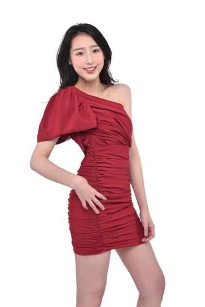 Rumi Dress Red