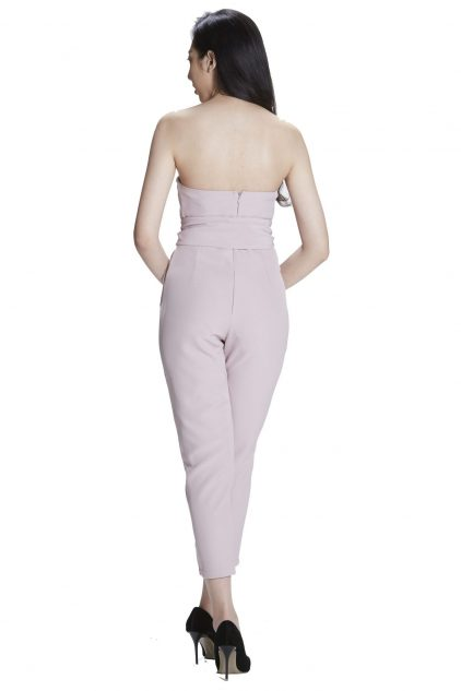 Zoey Playsuit Pink