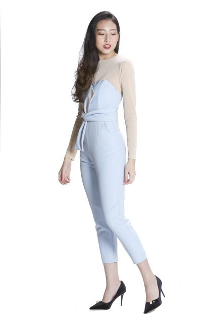 Zoey Playsuit Blue