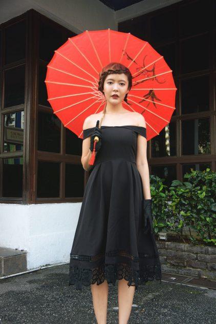 Happiness Dress Black