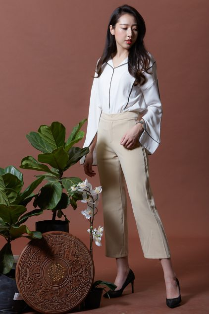 Issac Blouse White
