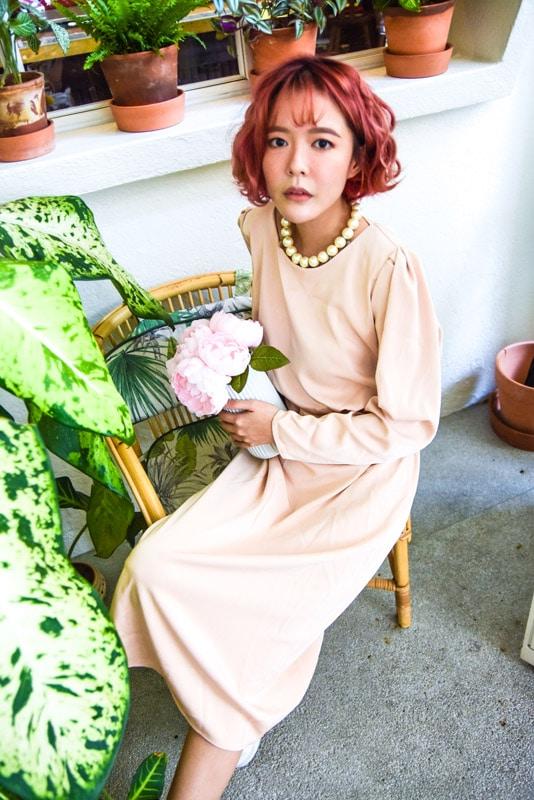 Vintage Dress in Brown 7