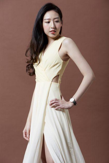 January Dress in Yellow