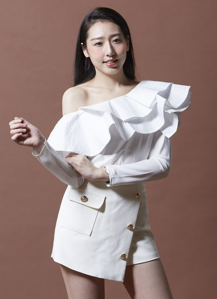 Luna Blouse in White