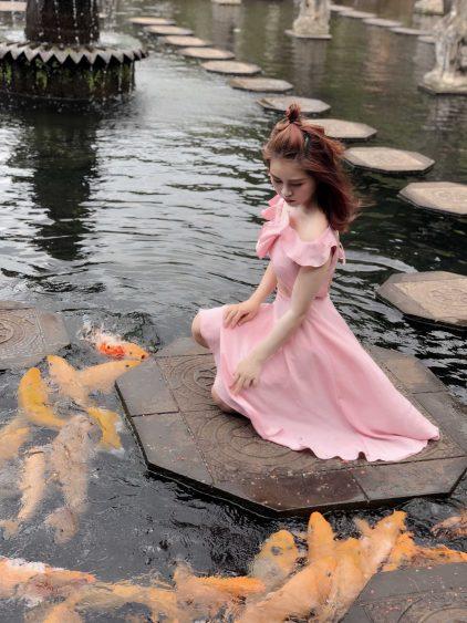 Nikita Dress Pink