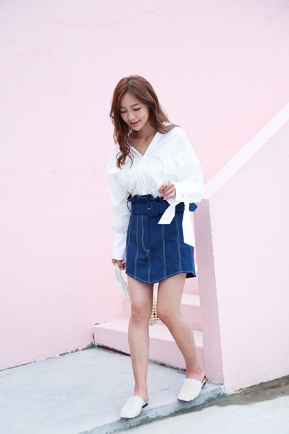 CC Denim Skirt