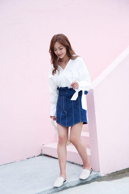 CC Denim Skirt