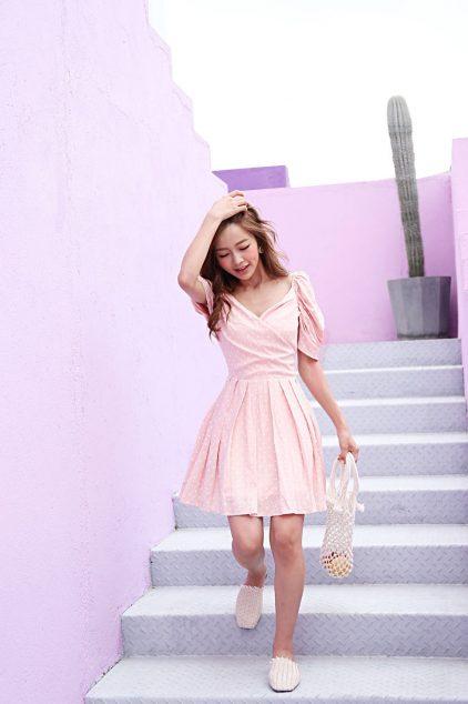 CC Dress in Polkadot