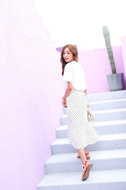 Dottie Skirt White