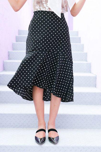 Dottie Skirt Black