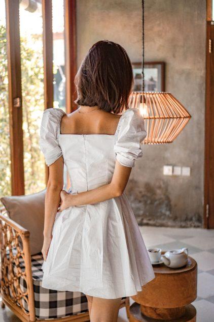 CC Dress White