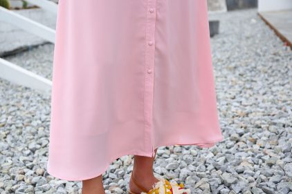 Molly Dress in Pink