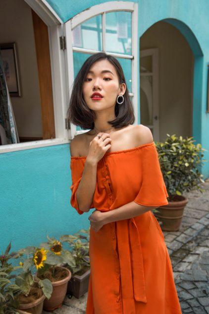 Molly Dress in Sunkist