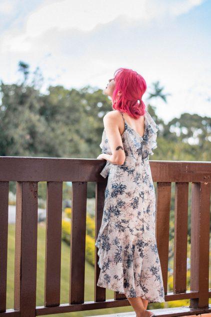 Papara Midi Dress