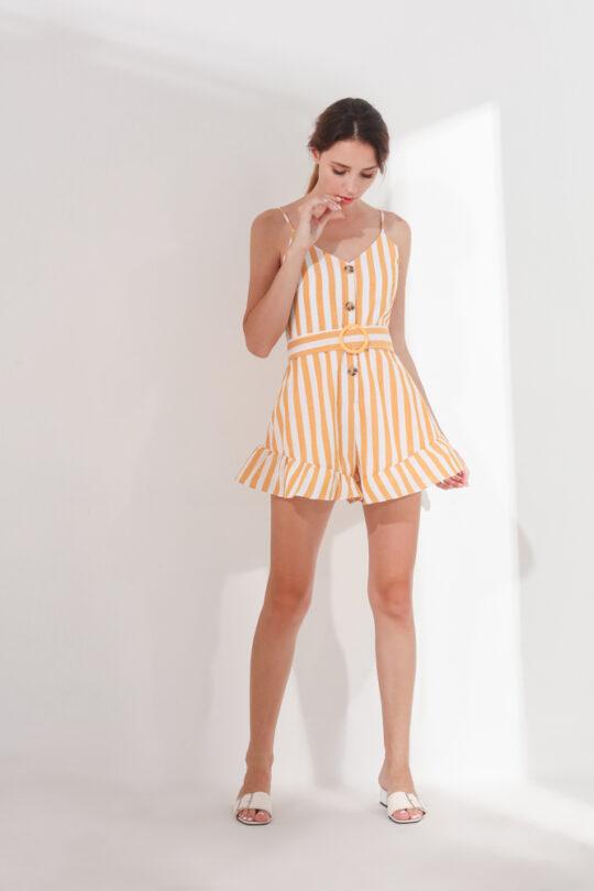 Barbara Playsuit Yellow (BACKORDER) 4