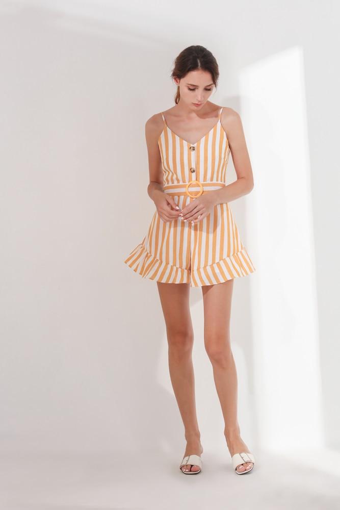 Barbara Playsuit Yellow (BACKORDER) 5