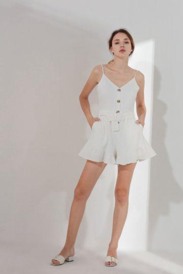 Barbara Playsuit White (BACKORDER) 9