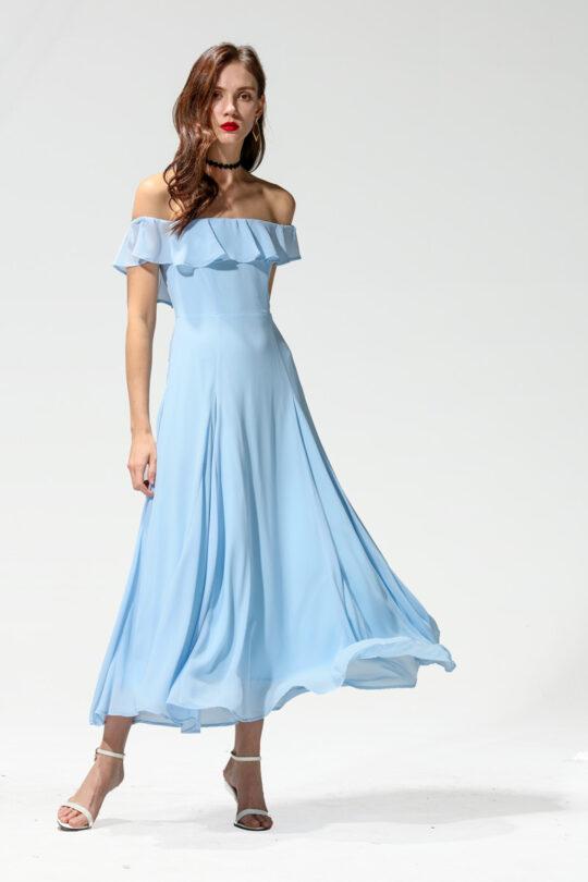 Koko Dress Blue 3