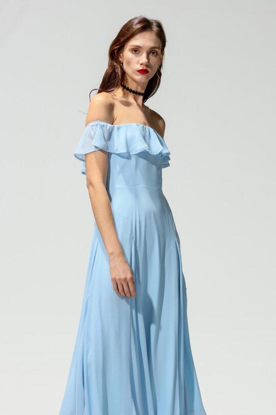 Koko Dress Blue 6