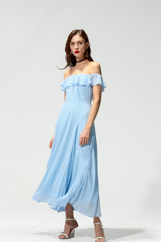 Koko Dress Blue 7