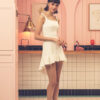 Asymmetrical Dress Marble 1