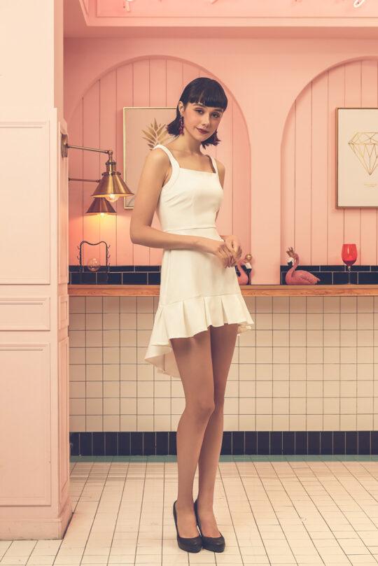Bunny Dress White 3
