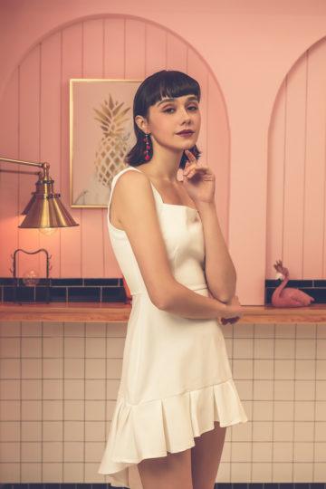 Bunny Dress White 10
