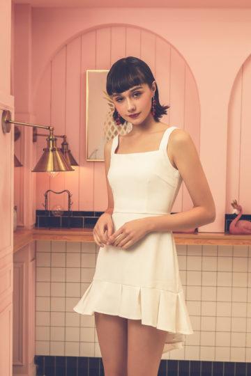 Bunny Dress White 11
