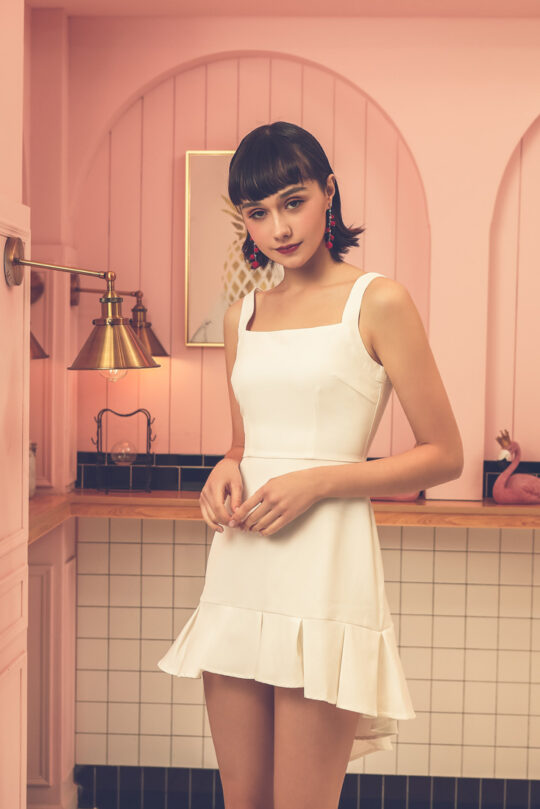 Bunny Dress White 7