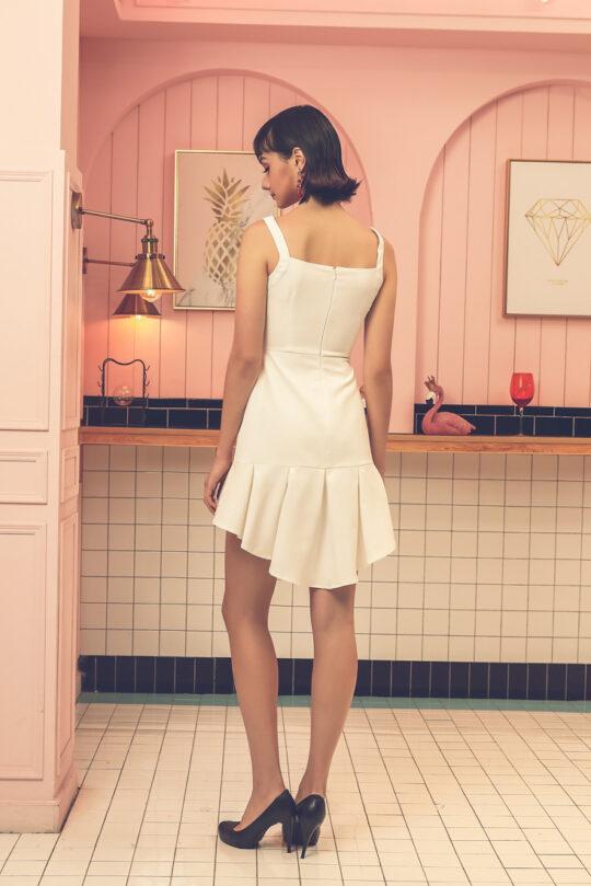 Bunny Dress White 4