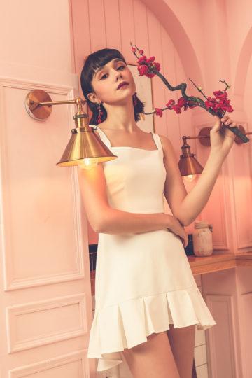 Bunny Dress White 9