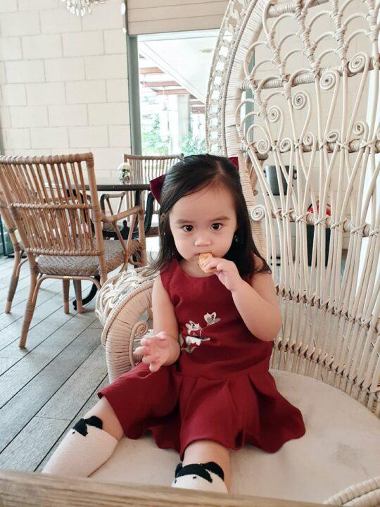 Baby Chenxi Dress Burgundy 7