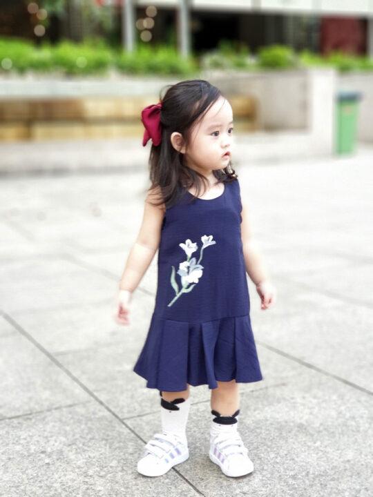 Baby Chenxi Dress Navy Blue 3