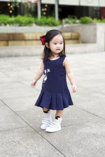 Baby Chenxi Dress Navy Blue 10