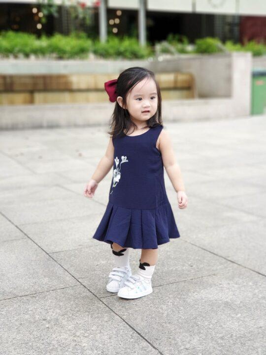 Baby Chenxi Dress Navy Blue 5