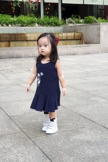 Baby Chenxi Dress Navy Blue 11