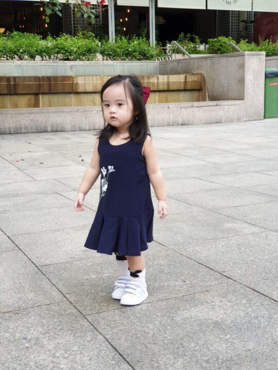 Baby Chenxi Dress Navy Blue 6
