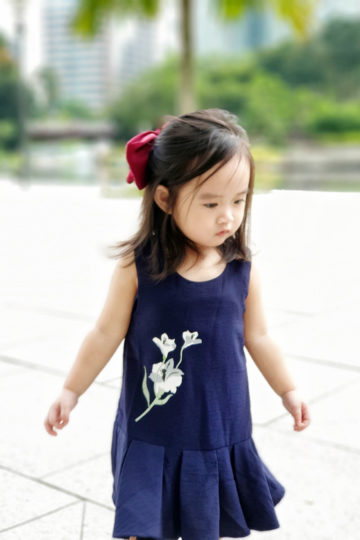 Baby Chenxi Dress Navy Blue 12