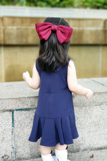 Baby Chenxi Dress Navy Blue 9