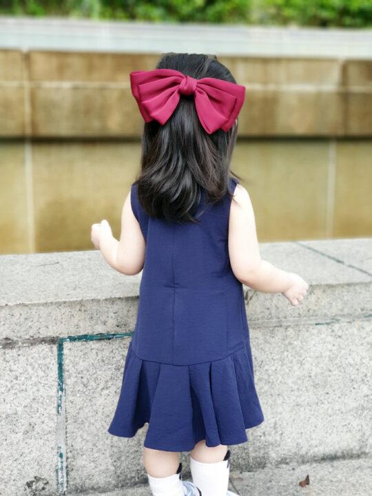 Baby Chenxi Dress Navy Blue 4