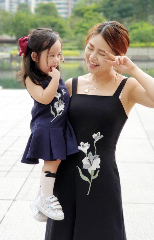 Baby Chenxi Dress Navy Blue 8