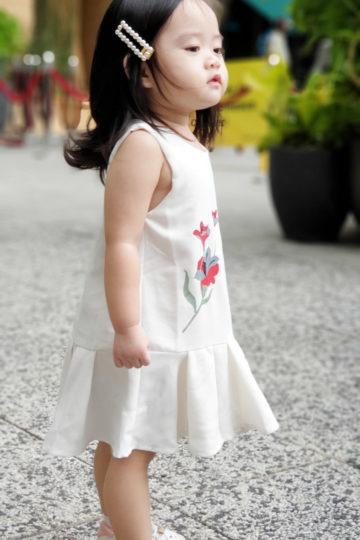 Baby Chenxi Dress White 12