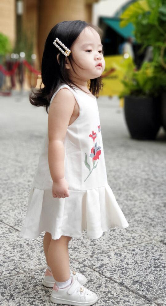 Baby Chenxi Dress White 7