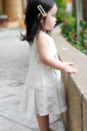 Baby Chenxi Dress White 10