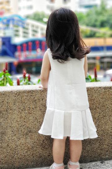 Baby Chenxi Dress White 9