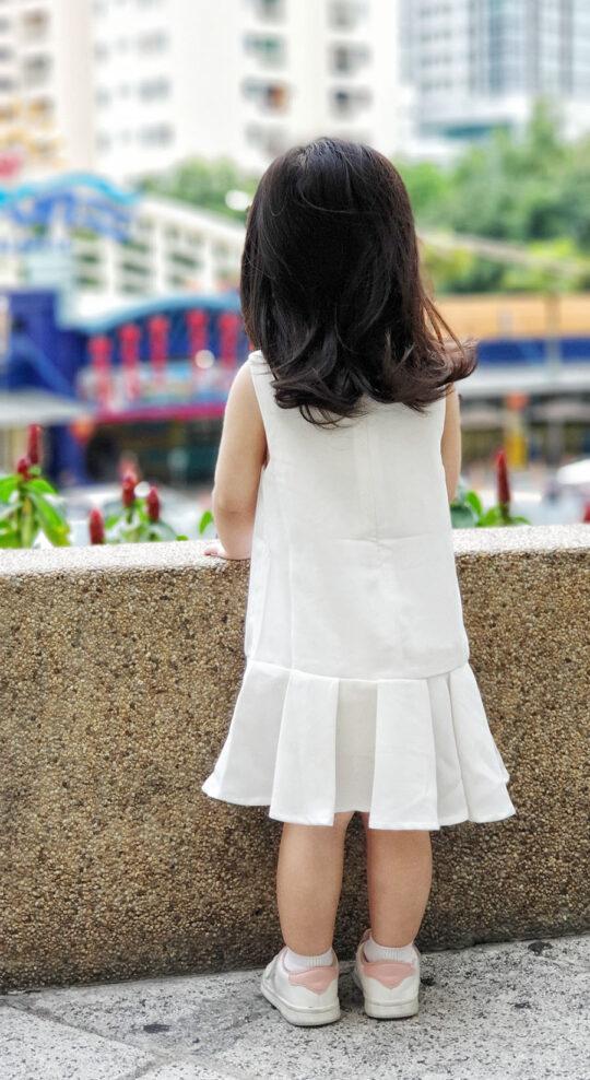 Baby Chenxi Dress White 4
