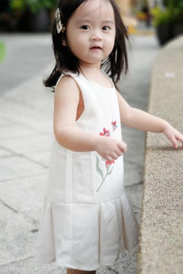 Baby Chenxi Dress White 11