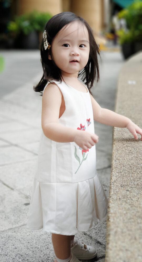 Baby Chenxi Dress White 6